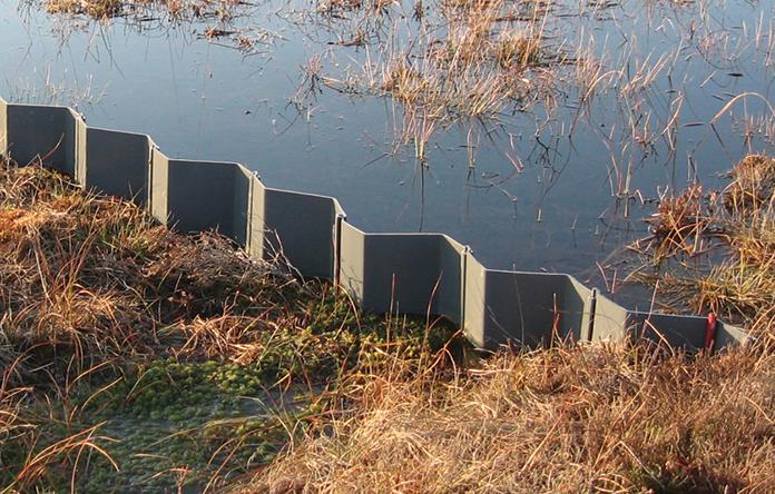 upvc plastic piling