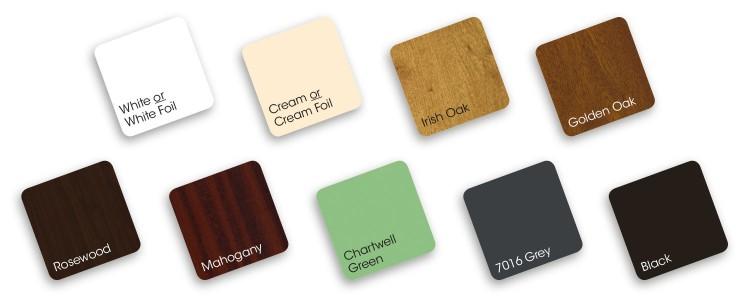 Liniar Foam Trims Colours