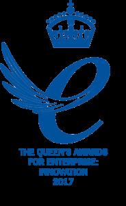 Queen's Awards for Enterprise- Innovation 2017 Emblem