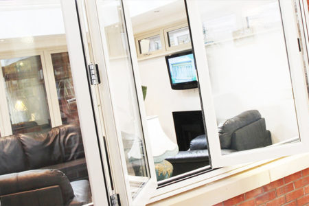 uPVC Bi-Fold Windows