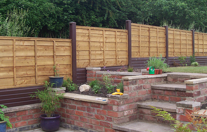Plastic Fencing Liniar Fencing Upvc Fence Panels