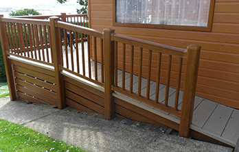 Upvc Steps And Ramps For Decking Systems Liniar