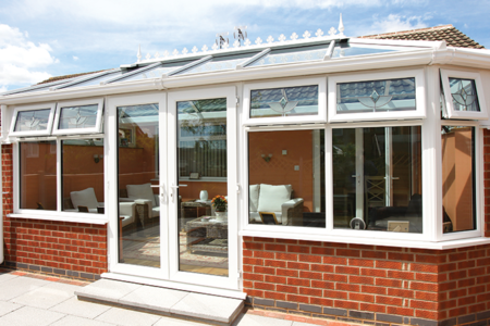 Double Hipped Conservatory by Liniar