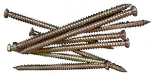 Concrete Frame Screws