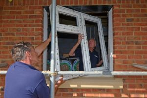 Installers at Gubbins Lane New Build (120)