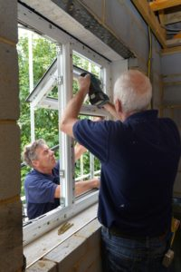Installers at Gubbins Lane New Build (3)