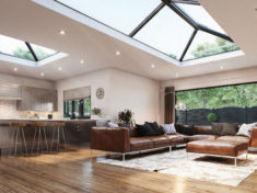 Elevate Lantern Roof by Liniar